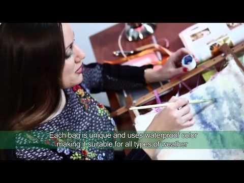 Borse ricamate con silk ribbon - www.scuoladiricamoaltamoda.it