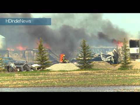 Sparks Egg Farm fire, June 2011, Calgary, Ab - HDindieNews