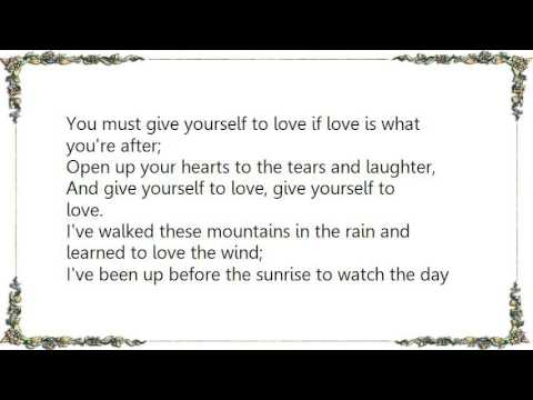 Kate Wolf - Give Yourself to Love Live Lyrics