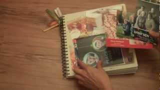 scrapbook ideas my version of a smash book and journaling baby steps