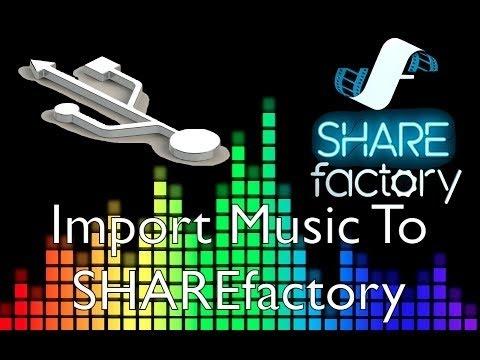 [Tutorial] Wie Importiere ich USB-Musik auf PS4/SHAREFACTORY! DEUTSCH