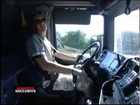 Reportage Routiers, les transports dangereux