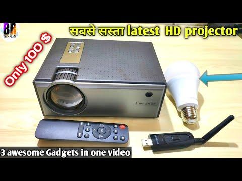 Blitzwolf Projector, Smartbulb & TV Bluetooth Receiver Review | BR Tech