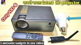 Blitzwolf Projector, Smartbulb & TV Bluetooth Receiver Review   BR Tech Films