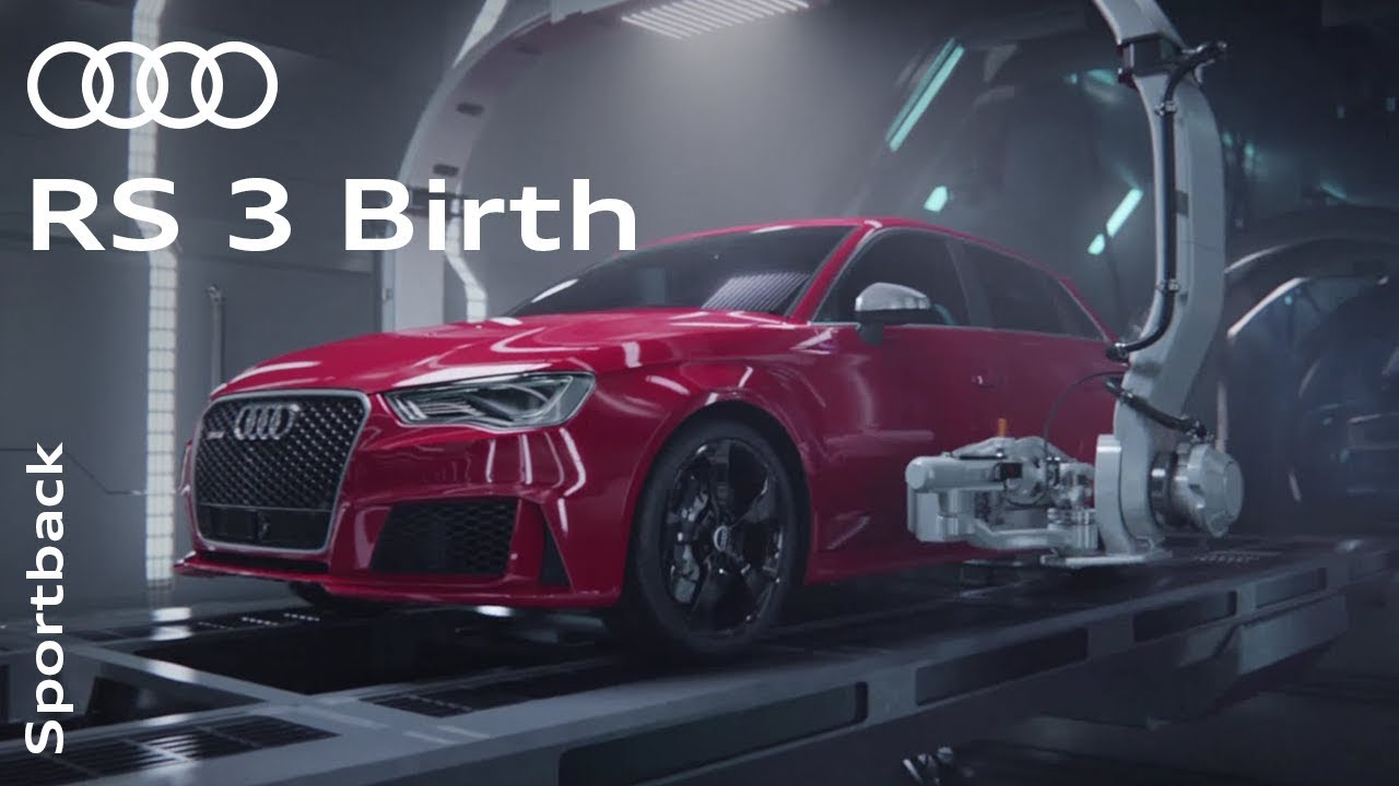 """the audi rs 3 """"birth"""" - youtube"""