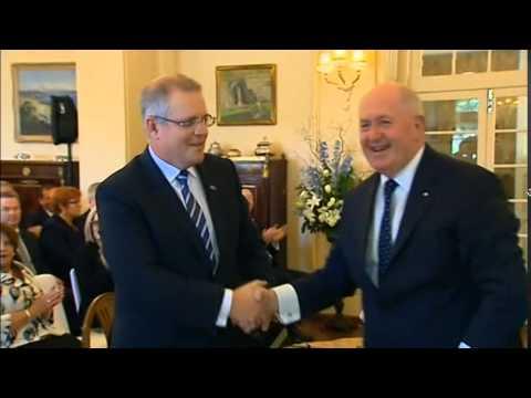 1101AS AUSTRALIA-POLITICS-CABINET-SWEARING IN