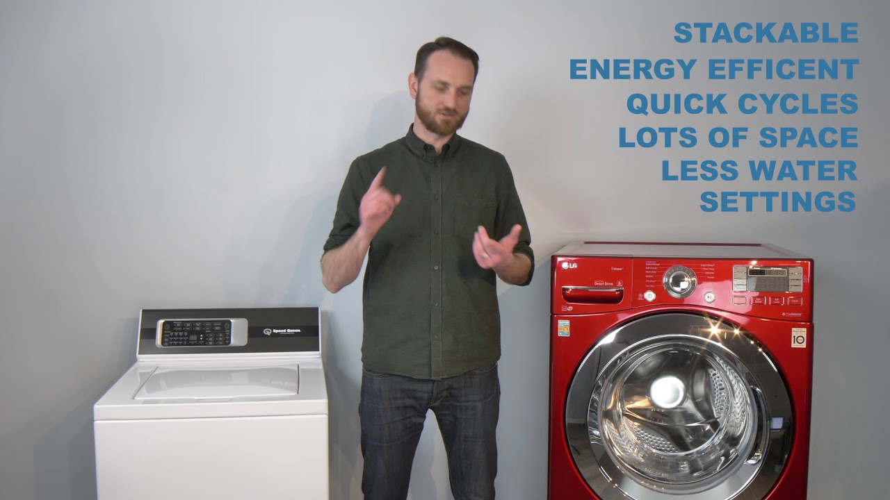 Best Front Load Washer 2020.Top Load Washers Vs Front Load Washers