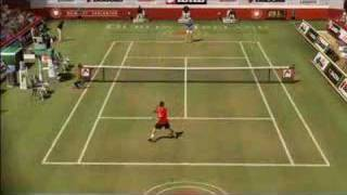 Top spin 3  Full court gameplay HD