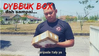 Dybbuk Box dah sampai...from Italy