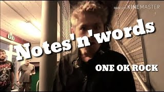 Download lagu ONE OK ROCK Notes n words 歌詞 和訳 MP3