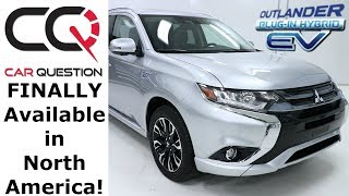 2018 Mitsubishi Outlander PHEV | Looking like a normal CROSSOVER! | Review 1/8
