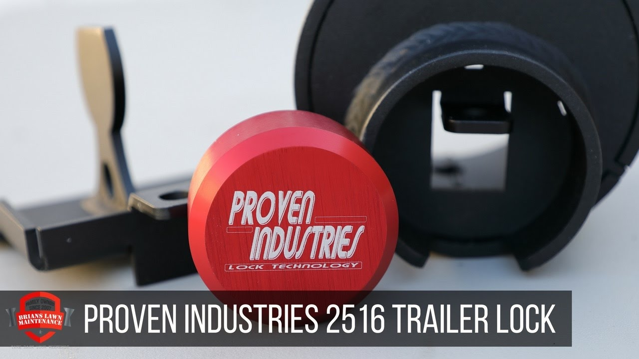 Proven Industries 2 5/16 Trailer Lock Unboxing/Overview