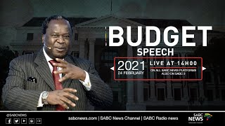 Budget 2021 delivered by Minister of Finance Tito Mboweni