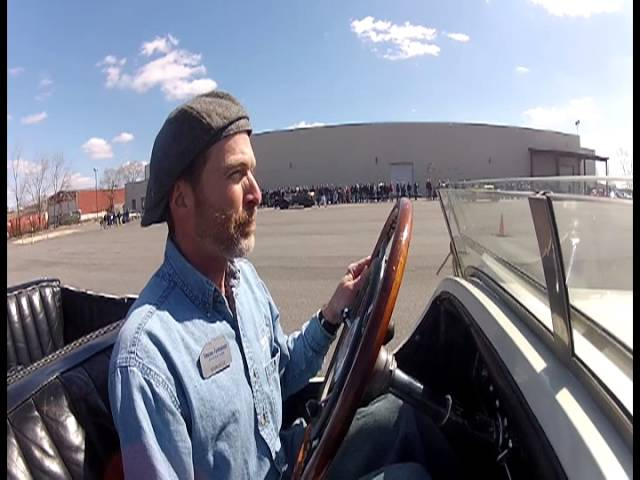 1927 Mercedes Benz, Demo Day March 23, 2013. Simeone Automotive Museum Official Video
