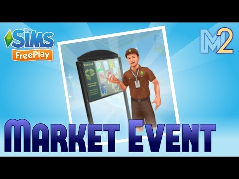 Sims FreePlay - SimTown Market Tutorial
