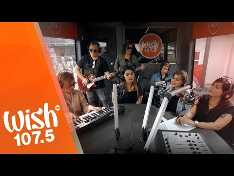 "Aegis performs ""Luha""  on Wish 1075 Bus"