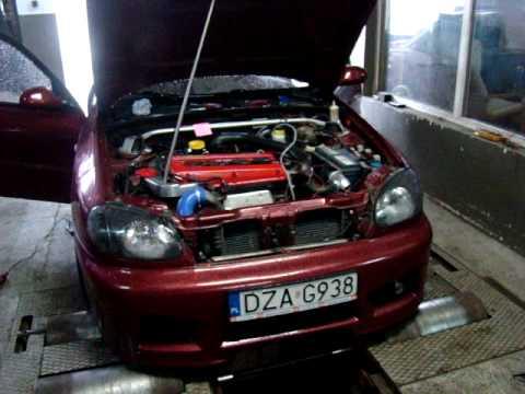 Daewoo Lanos 2.3 Turbo (Saab) - YouTube