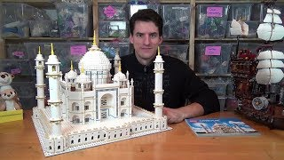 Nichts ist gruseliger zu bauen als das LEGO® Creator Expert 10256 Taj Mahal, aber es ist so hübsch!