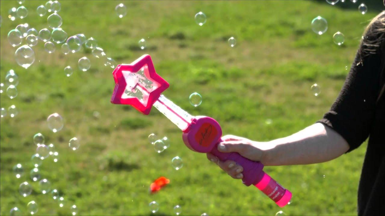 Seifenblasenpistole LED Seifenblasenmaschine Seifenblasen Kinder Bubble Machine