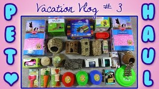 BIG Collective Pet Haul! VACATION VLOG #3 Thumbnail