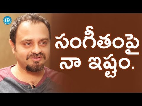 Chirantan Bhatt About His Love For Music    #Jaisimha    Talking Movies With iDream