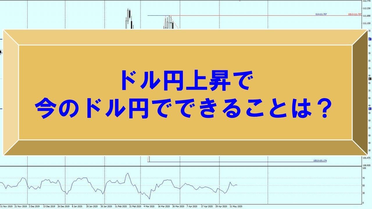 ドル円上昇で今のドル円でできることは?【為替 予想】