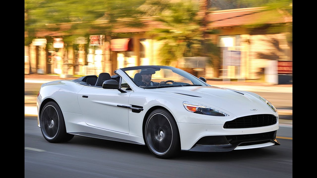 Aston Martin Vanquish Volante review - is this the world's ...