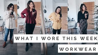 What I Wore This Week || A Week in Workwear