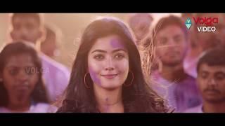Rashmika Geetha Chalo Movie Holi Scene | 2019 Latest Telugu Movies | Volga Videos |