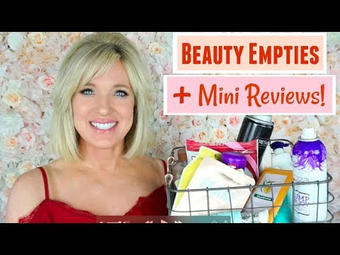 Beauty Empties MINI REVIEWS! Makeup, SKIN CARE, Hair Care   Body Care!