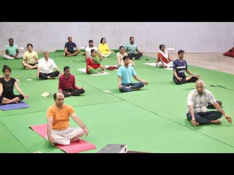 International Day of Yoga 2016 || IIT Madras -Part 8/9 - Shavasana and Felicitations