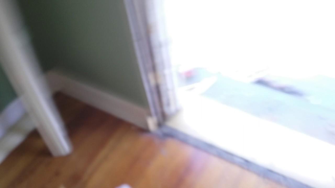 Installing Entry Door And Storm Door