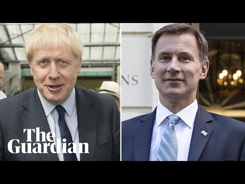 Boris Johnson and Jeremy Hunt speak at Tory party hustings in Belfast - watch live