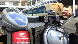 【完乗の旅 30話】 日本最大の鉄道博物館、京都鉄道博物館に行ってきた!