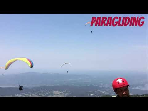 Feel high with adventures paragliding at bir billing