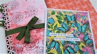Artsy Junk Journal + Mixed Media Card for Valentina