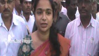 Wanaparthi Collector Swetha Mahanthi on Bathukamma Celebration