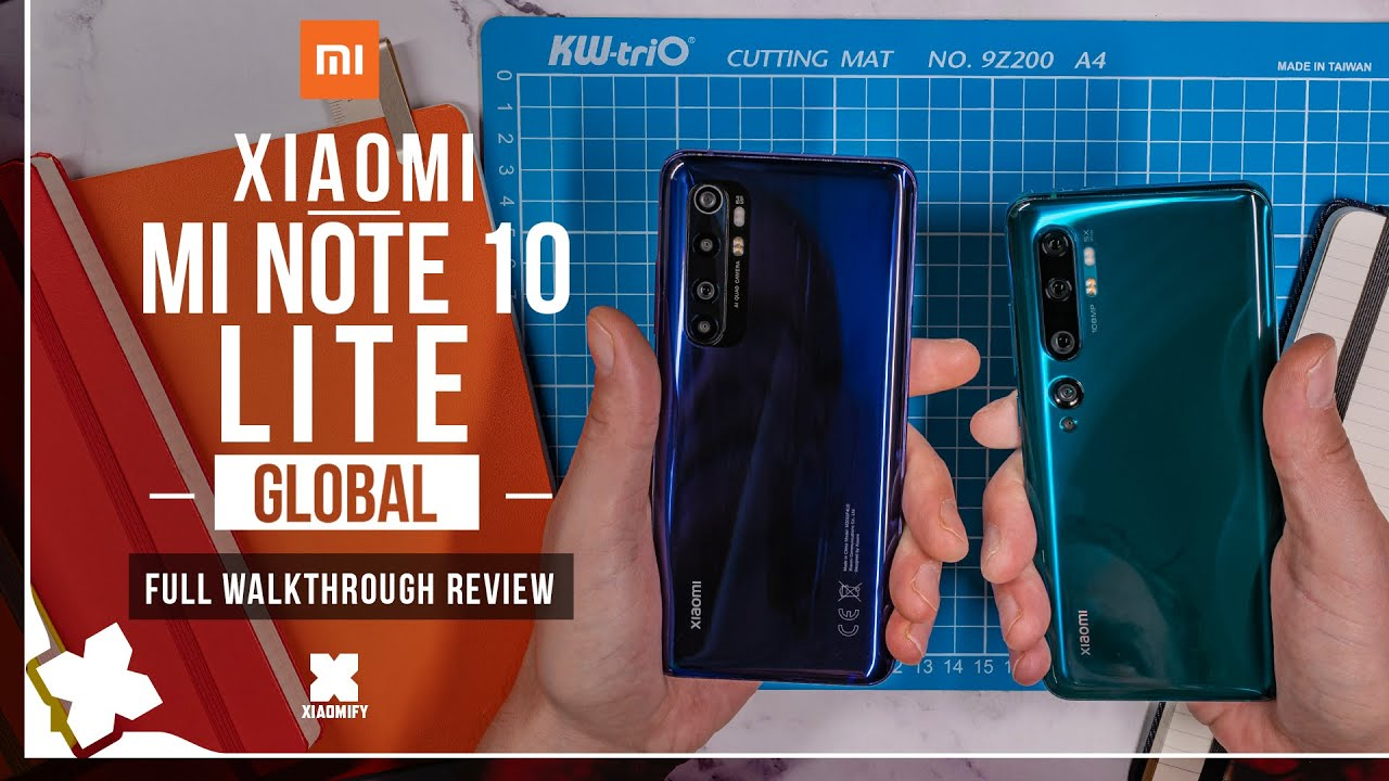 Xiaomi Mi Note 10 Lite - Global - FULL review [Xiaomify]