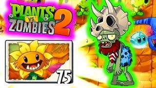 PREHISTORYCZNY SŁONECZNIK! | PLANTS VS ZOMBIES 2 #69 #admiros