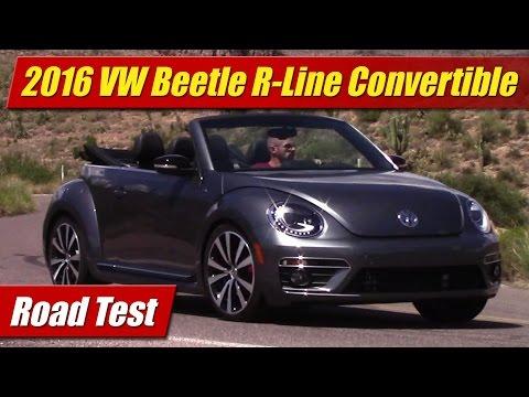 2016 Volkswagen Beetle R-Line Convertible: Road Test