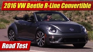 2016 Volkswagen Beetle R-Line Convertible: Road Test
