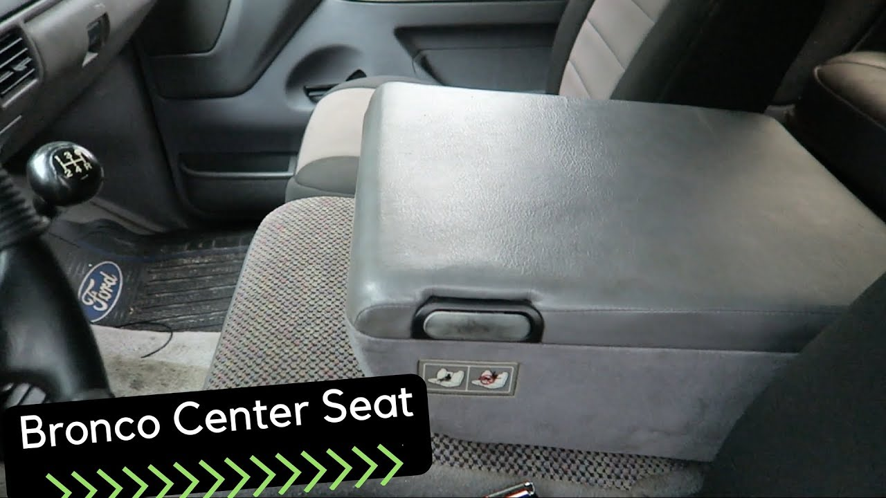 2017 Ford Bronco >> How I made a CUSTOM center console/seat bracket for the ...