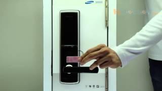 Врезной электронный дверной замок Samsung-SHS-H620/SHS-H625/SHS-5120XBK/EN