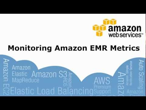 Monitoring Amazon EMR Metrics