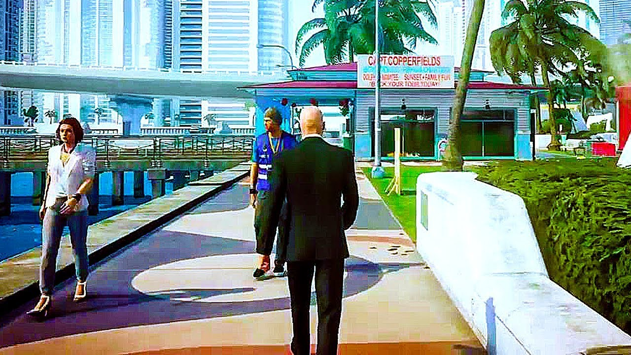 hitman 2 2018 gameplay