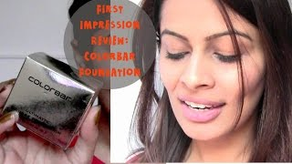 First Impression Review : Colorbar Ultimate Mousse Foundation | Indian Foundation