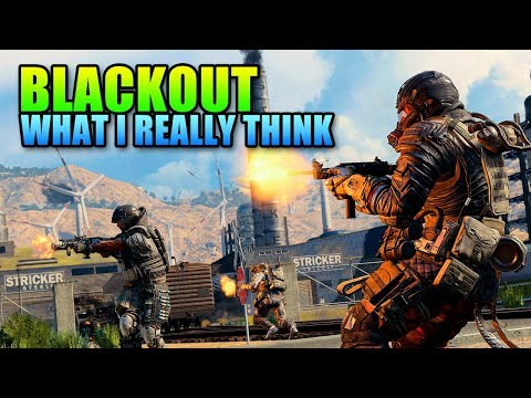 Call Of Duty BLACKOUT - What I Actually Think   COD BO4 Review