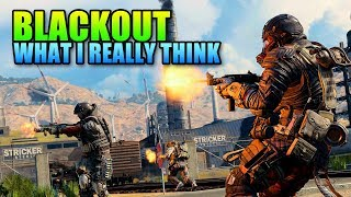 Call Of Duty BLACKOUT - What I Actually Think | COD BO4 Review