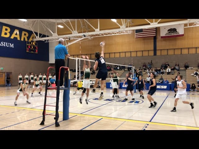 MEN's Volleyball UCSB vs Concordia 2020 NCAA