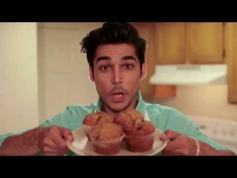 Cooking with Monty: blueberry muffins